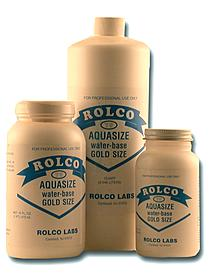 ROLCO Aquasize Water-Based Gold Size  [672]