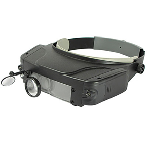 Magnifier #3  With Mirror.3 Lens .LED Lighted