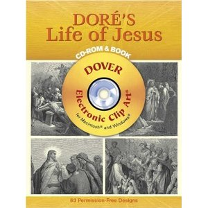 Dore's Life of Jesus CD-ROM and Book